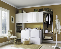 Katy, TX Laundry Room Organization