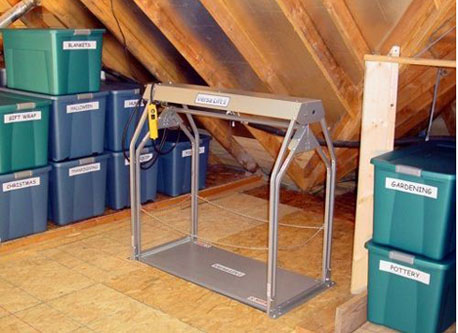 Attic Lift Houston Garage Storage