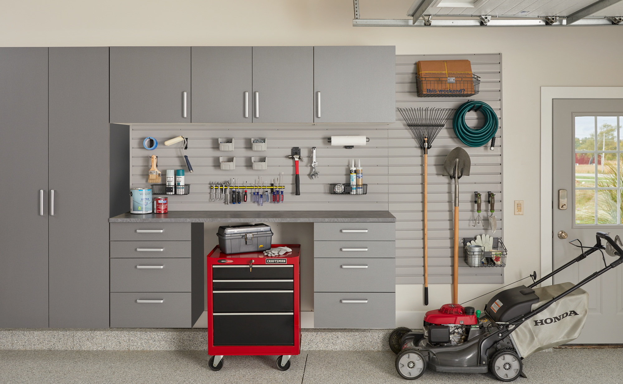 Custom Cabinets Houston Garage Storage